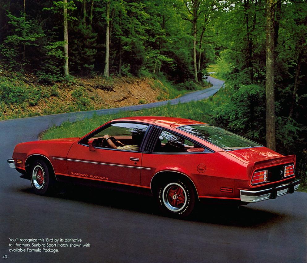 1980 Pontiac Sunbird brochure picture