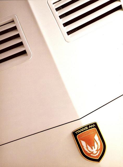 1989 Pontiac Firebird brochure cover, courtesy of Flickr user Alden Jewell.