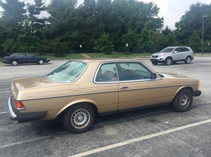 A 1985 Mercedes-Benz 300D Turbo Coupe in Radnor, PA