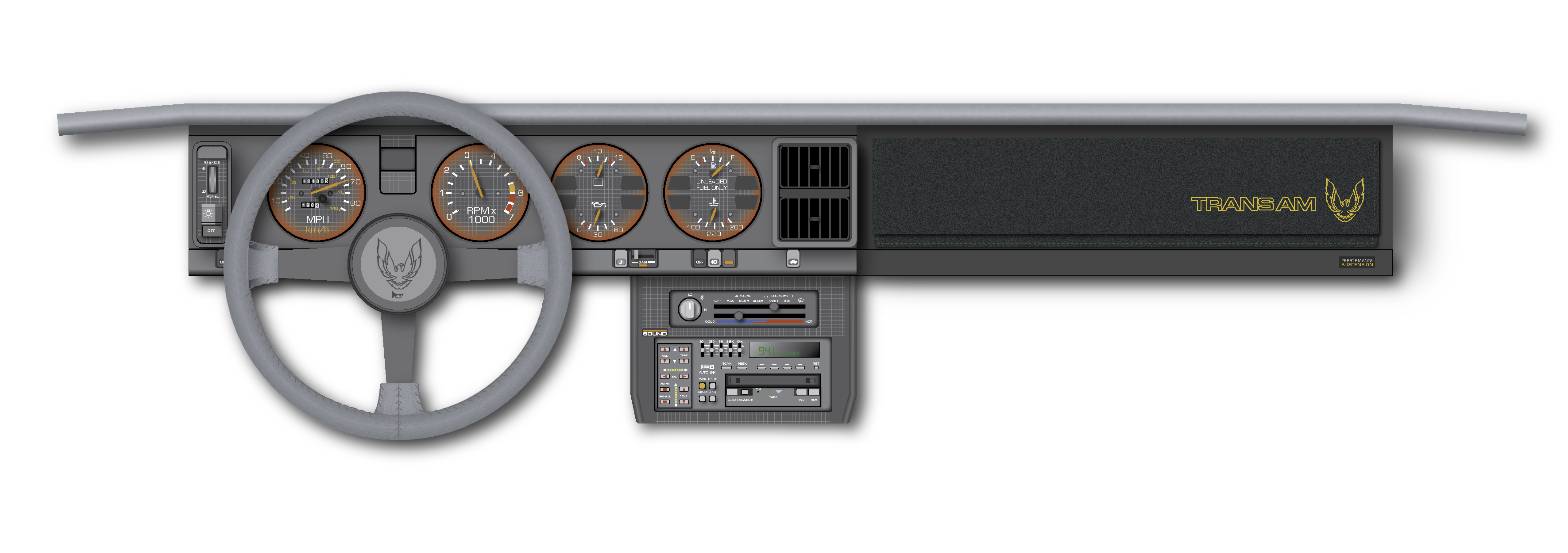 1985 Pontiac Firebird Trans Am Coupe Tuned Port Injection ...  |1985 Firebird Price Bra