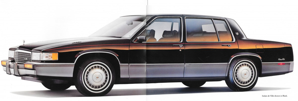 1989 eighties cars sedan deville pages from the 1989 cadillac brochure fandeluxe Choice Image