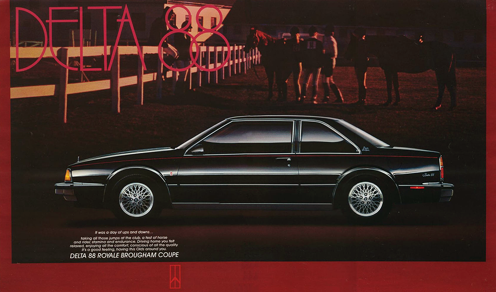 1987 Oldsmobile brochure