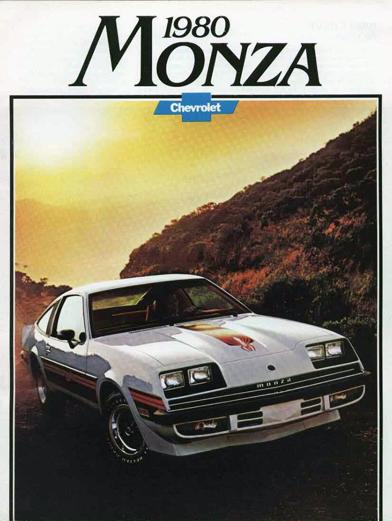 1980 Chevrolet Monza brochure cover