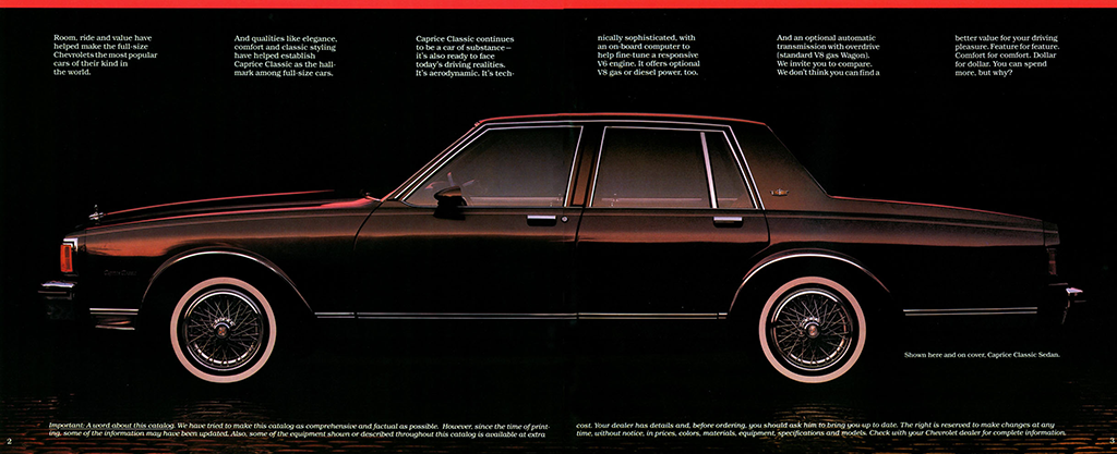 1983 chevrolet caprice classic sedan eighties cars 1983 chevrolet caprice classic sedan