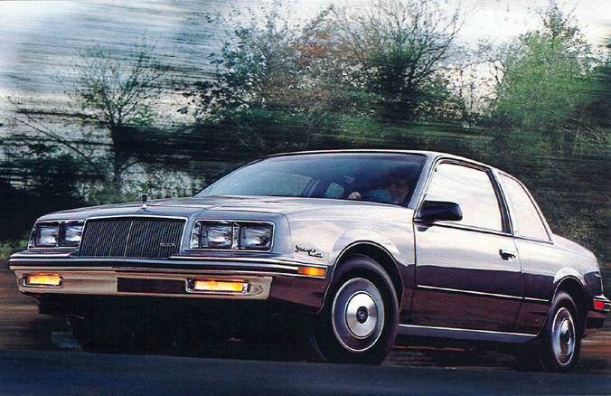 1985 Buick Somerset Regal coupe exterior photograph